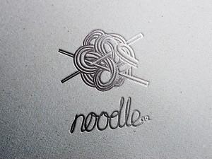 Печатный вариант логотипа для лапшы
