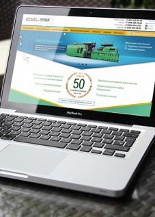 Дизайн сайта для пластико перерабатывающего предприятия